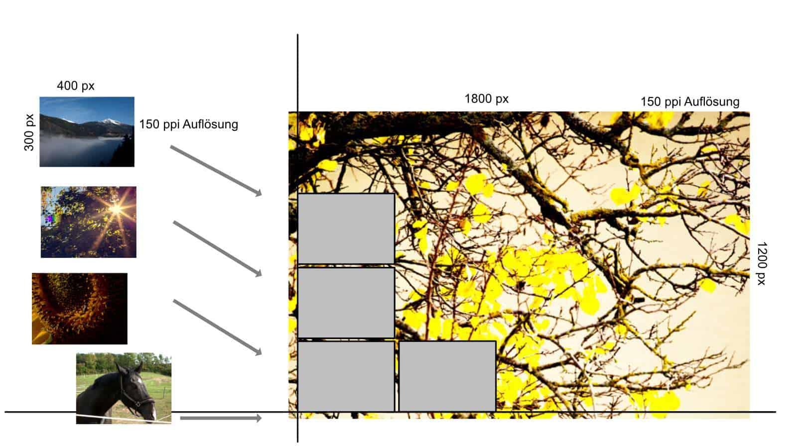 Karte Herbst Skizze